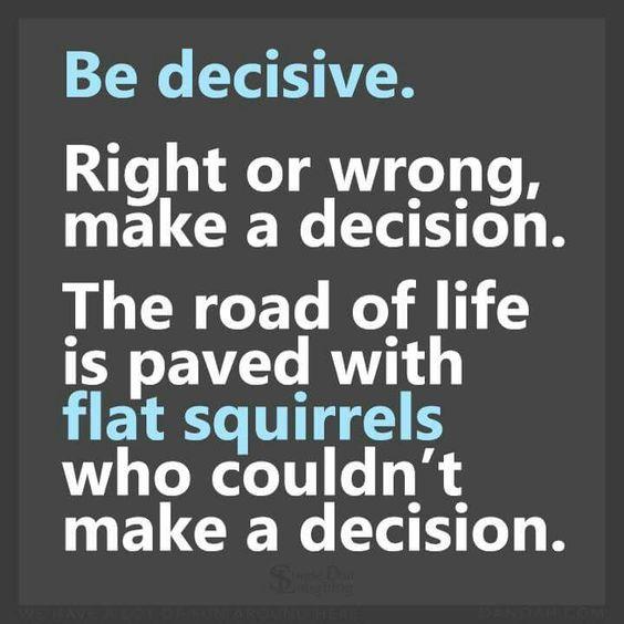 Be-decisive